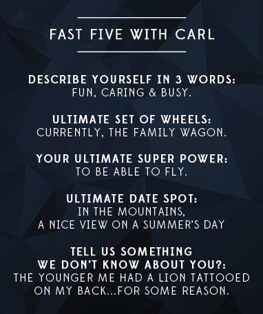 Fast Five with Carl