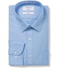 Classic Relaxed Fit Shirt Solid Colour