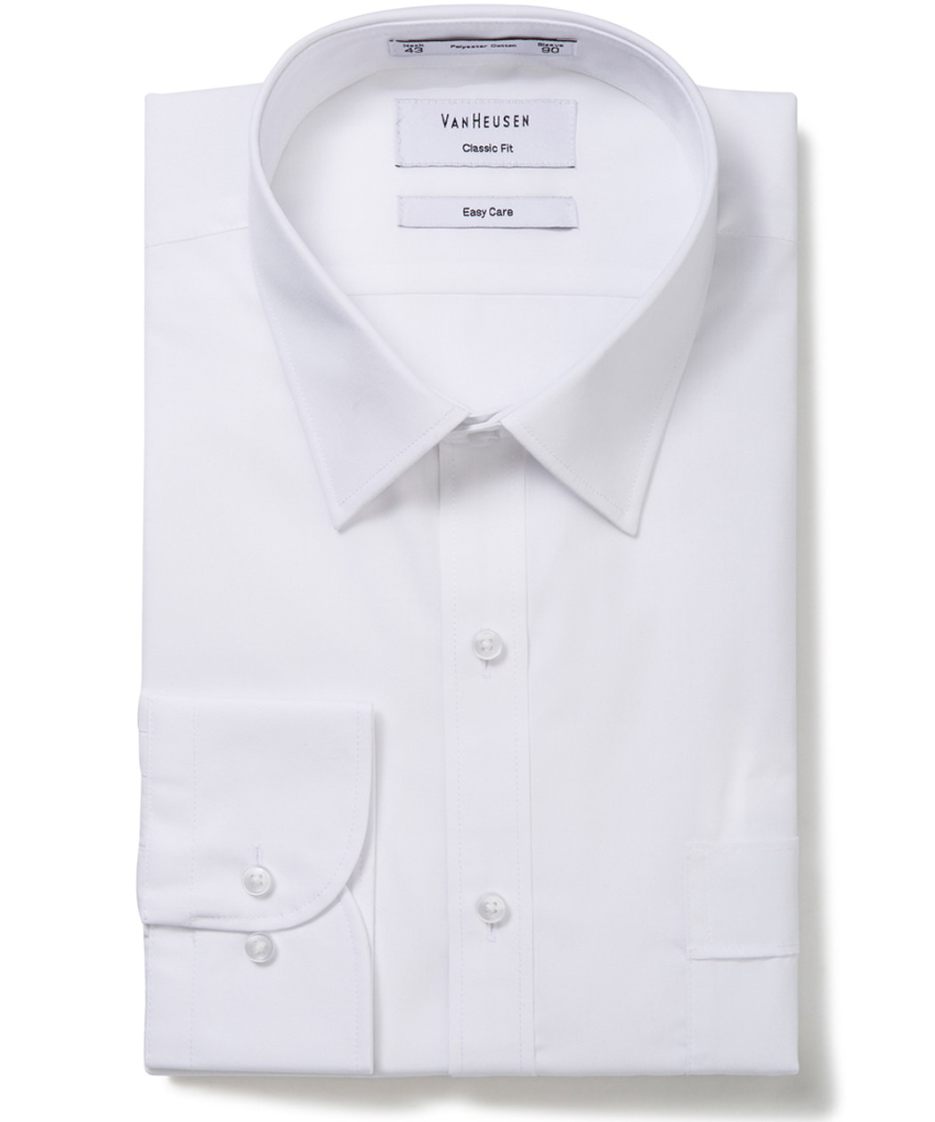 431a9169a00 Van Heusen. Classic Relaxed Fit Shirt Solid Colour