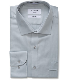 Classic Relaxed Fit Shirt Herringbone
