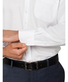 Classic Relaxed Fit Shirt Herringbone