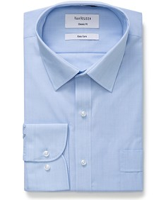 Classic Relaxed Fit Shirt End on End Textured