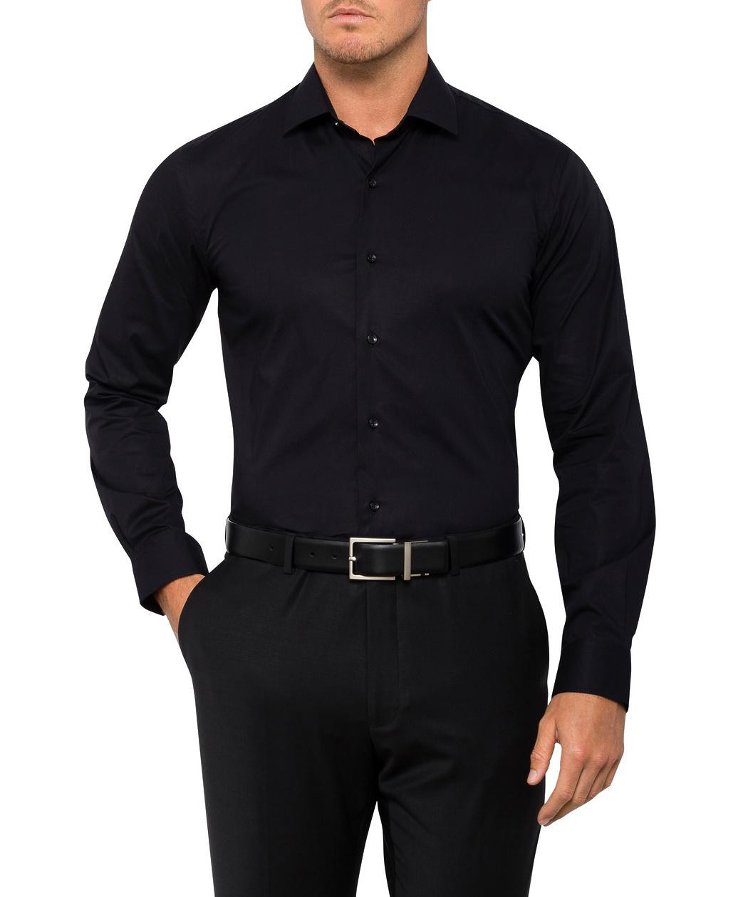 Van Heusen Slim Fit Cotton Stretch Shirt | Mens Long Sleeve Shirt ...