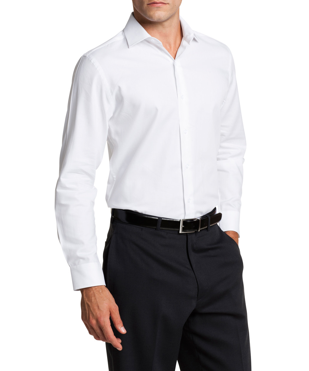 Van Heusen Pure Cotton Slim Fit Shirt Mens Shirt Van Heusen