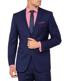 Slim Fit Suit Jacket Move Ink