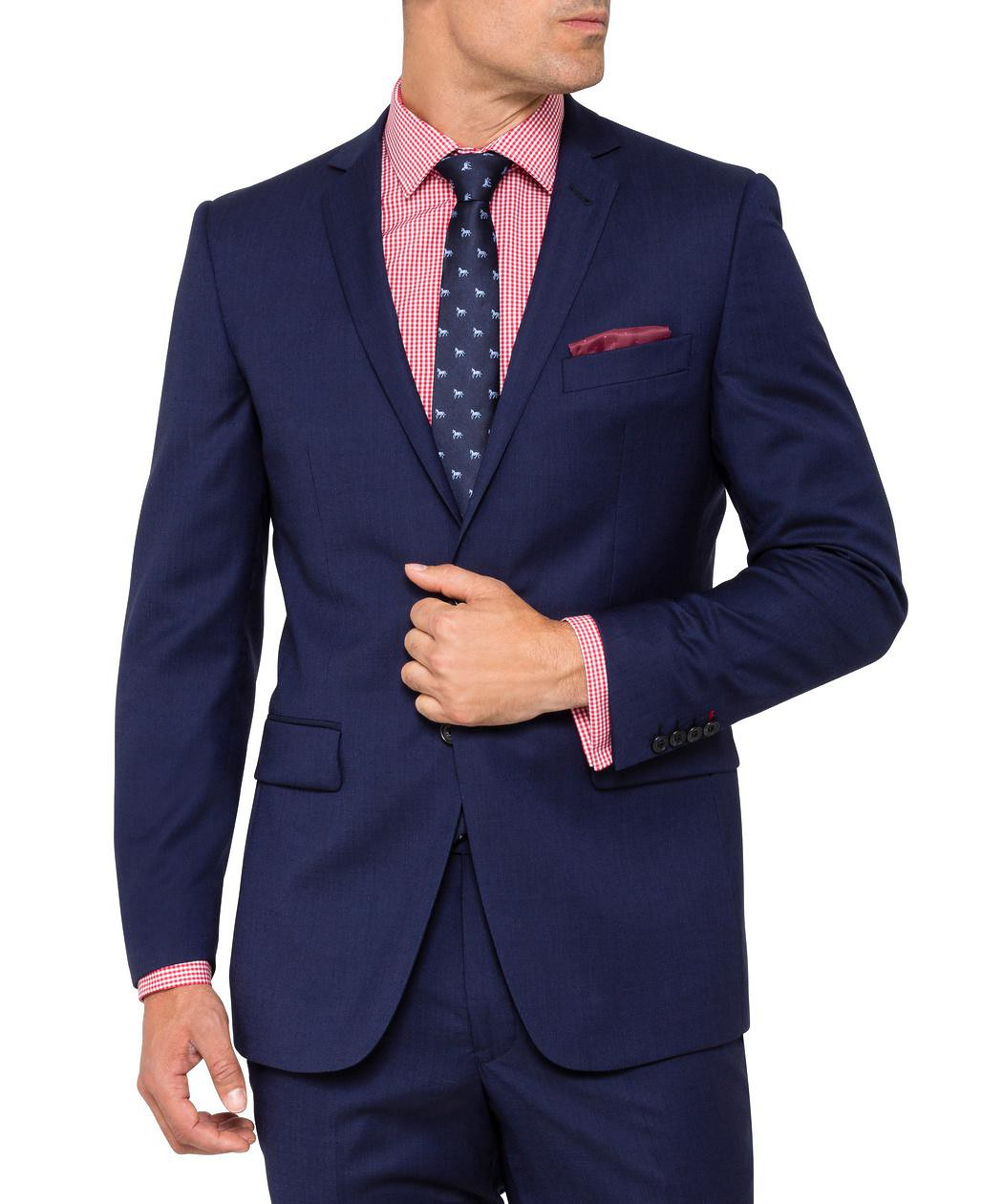 64272b155 Van Heusen Mens Move Slim Jacket Ink | Suit Jacket | Van Heusen ...