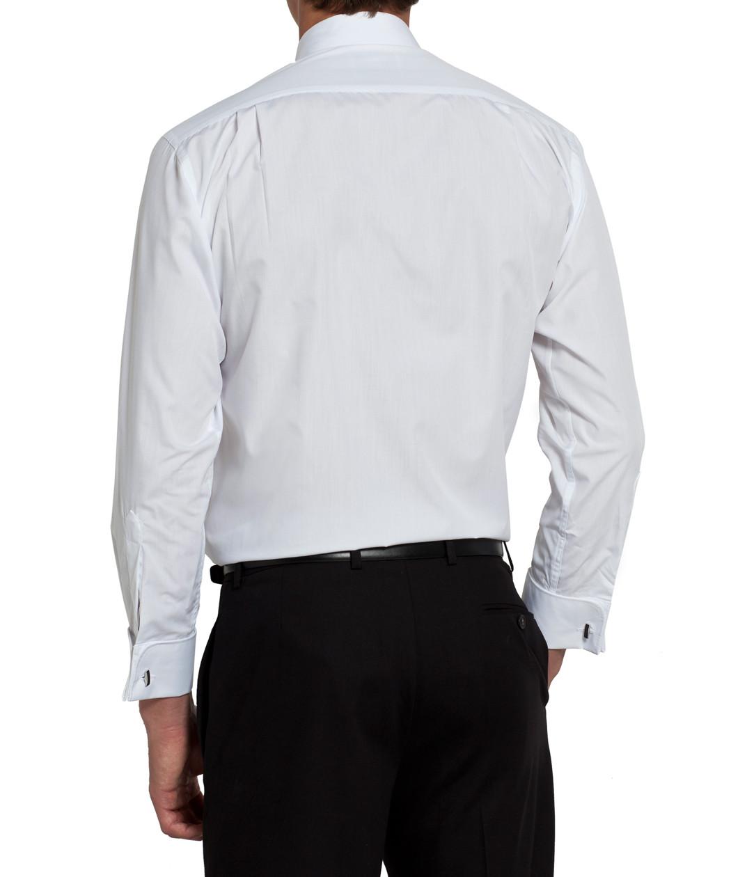 Van Heusen Classic White Tuxedo Shirt Mens Shirt Van Heusen