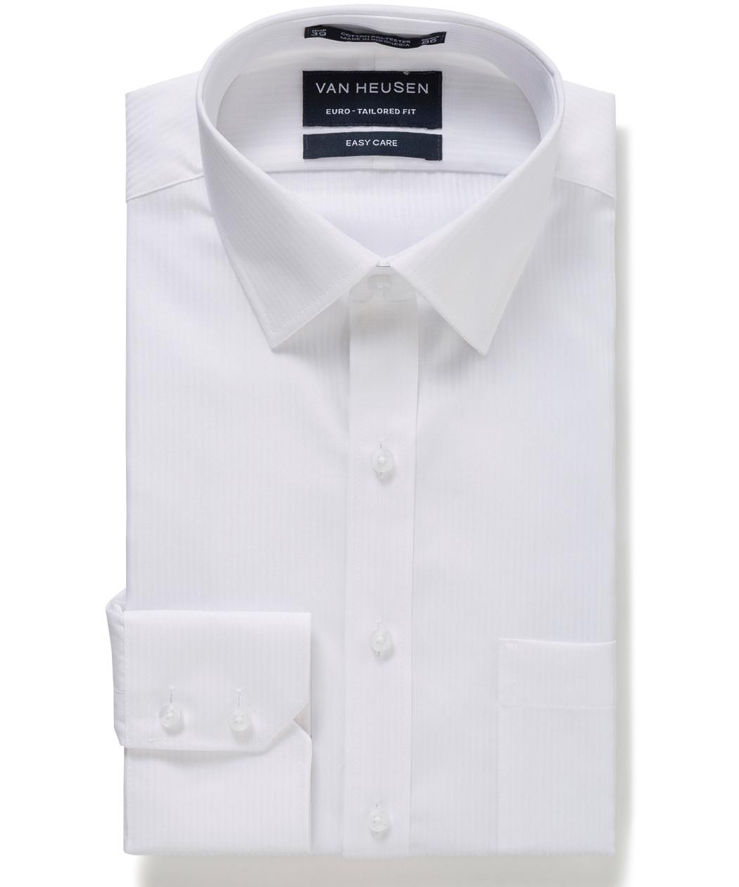 a1e48df967b Van Heusen. Euro Tailored Fit Shirt Self Stripe