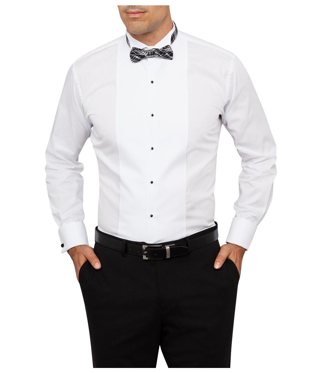 van heusen cotton wing collar dinner shirt mens shirt