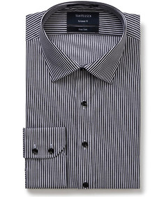 Euro Tailored Fit Shirt Vertical Stripes