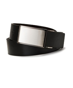 Mens Reversible Belt Solid Buckle