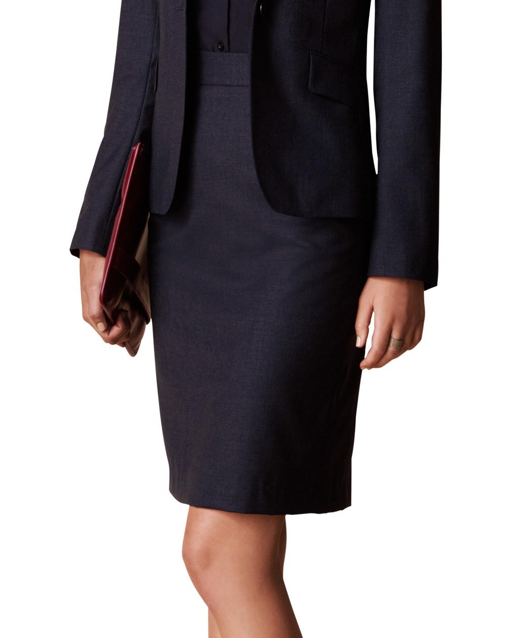 Womens Wool Skirt 38