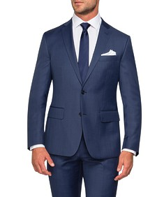 Euro Tailored Fit Suit Jacket