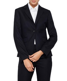Womens European Fit Suit Jacket Ink