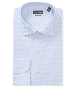 Euro Tailored Fit Shirt Blue All Over Print