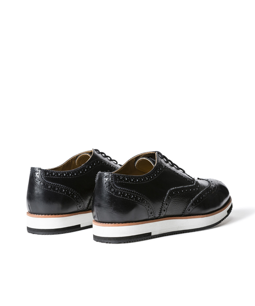 ba890399fb5 Van Heusen Men s Shoe Hybrid Brogue Black