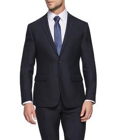 Slim Fit Suit Jacket Deep Navy