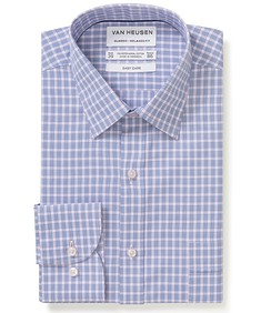 Classic Relaxed Fit Shirt Dusty Pink Glen Check