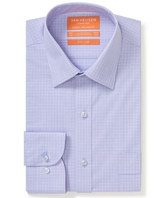 Classic Relaxed Fit Commuter Shirt Dusty Pink Check