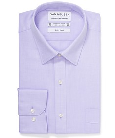 Classic Relaxed Fit Shirt Blue Small Rectangle Check