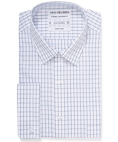 Classic Relaxed Fit Shirt Rectangle Window Check
