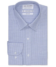 Classic Relaxed Fit Shirt Two Colour Way Check