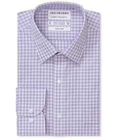 Classic Relaxed Fit Shirt Three Colour Way Check