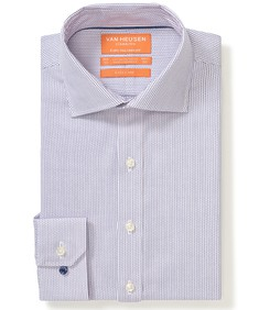 Euro Tailored Fit Commuter Shirt Dusty Pink Print