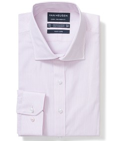 Euro Tailored Fit Shirt Vertical Pin Stripe