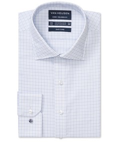 Euro Tailored Fit Shirt Two Tone Check