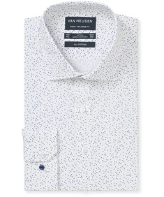Euro Tailored Fit Shirt Crosses Print