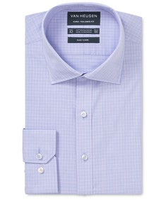Euro Tailored Fit Shirt Check over Colour