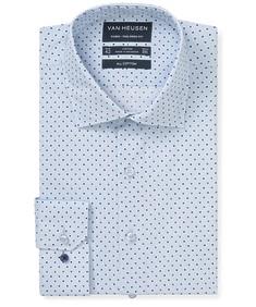 Euro Tailored Fit Shirt Spot Print