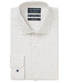Euro Tailored Fit Shirt Multi Spot Print
