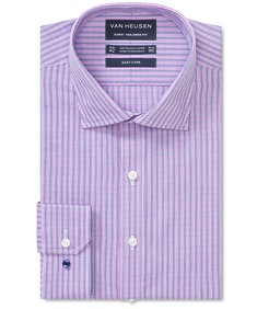 Euro Tailored Fit Shirt 2 Colour Mid Check
