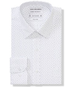 Classic Relaxed Fit Shirt Leaf Print