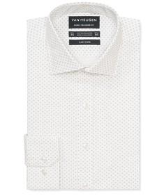 Euro Tailored Fit Shirt White Emblem Print