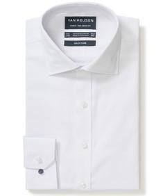 Euro Tailored Fit Shirt White Diamond Print