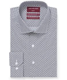 Slim Fit Shirt Purple Gingham