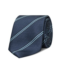 Neck Tie Navy Stripe + Spec
