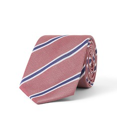 Tie Red with Diagonal Stripe