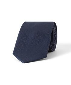 Tie Navy Splash