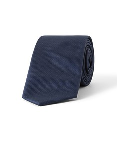 Tie Navy Textured