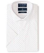 Euro Tailored Fit Short Sleeve Shirt Multi Dot