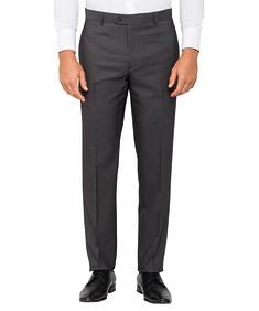 Slim Fit Business Trouser Charcoal Birdseye