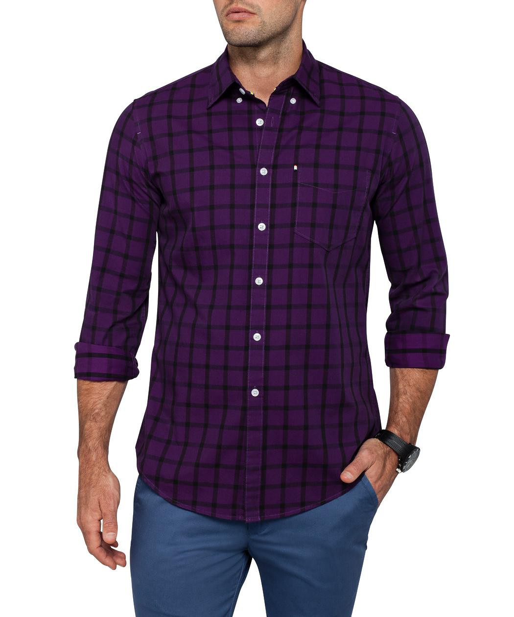 Mens purple shirt t shirts design concept Light purple dress shirt men