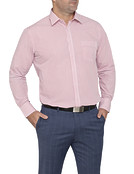 Mens Classic Fit Shirt Vertical Stripe