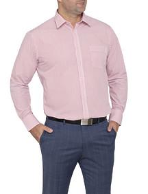 Mens Classic Fit Shirt Vertical Stripe