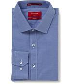 Slim Fit Shirt Navy Mini Check