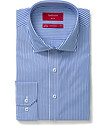 Slim Fit Shirt Blue and White Stripe